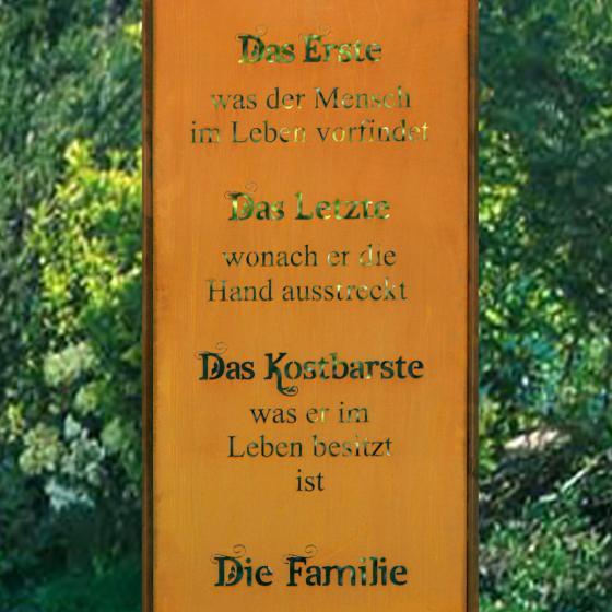 Rost Gartenschild Family | #2