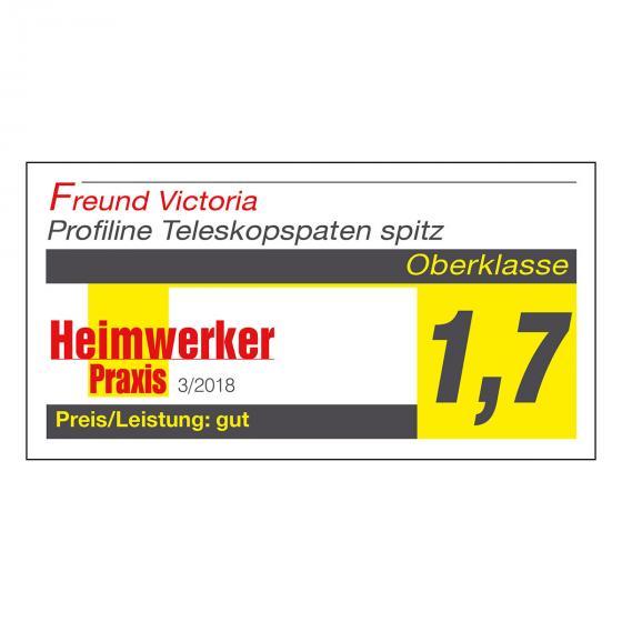 PROFILINE Teleskop-Gärtnerspaten 69406 | #2