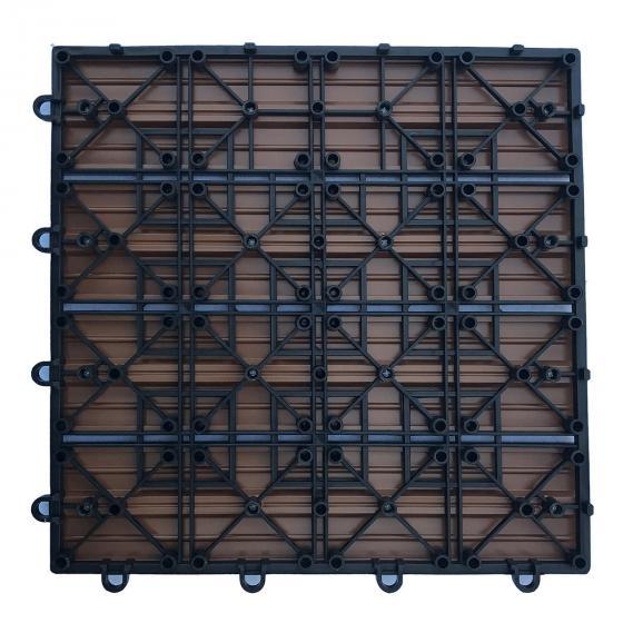WPC Holzfliesen anthrazit 1m² | #2