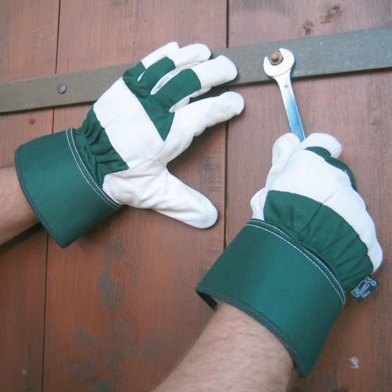 Rindsvolllederhandschuh Worker | #2