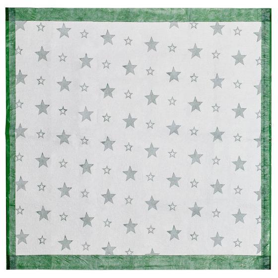 Christbaum Unterlegdecke, 80x80 cm, grün   #2