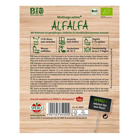 BIO Keimsprossen Alfalfa | #2
