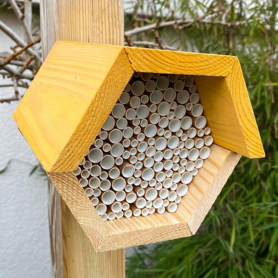 Bienenhaus, sechseckig, gelb   #2