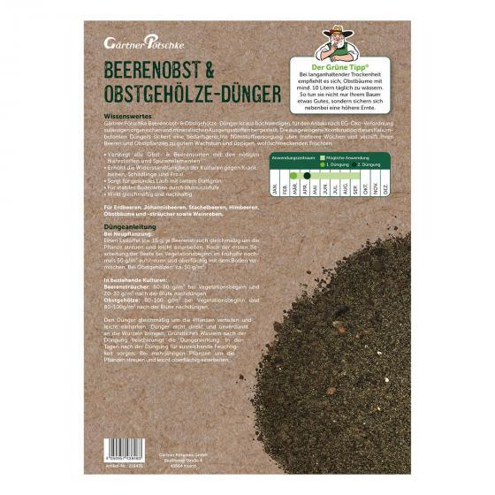 Beerenobst- und Obstgehölze-Dünger, 2,5 kg   #2