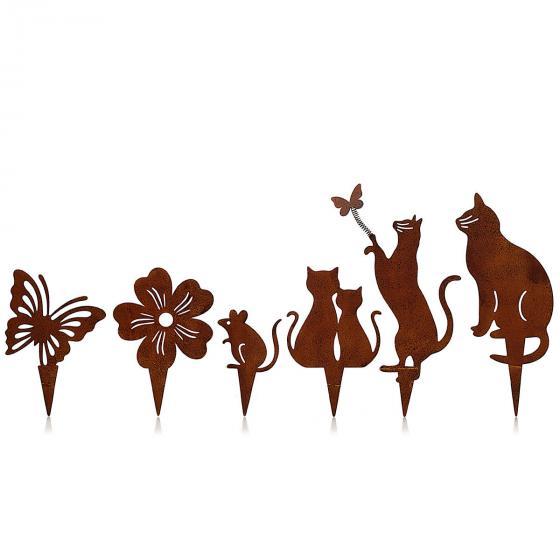 Dekostecker Katzen 6er-Set | #2