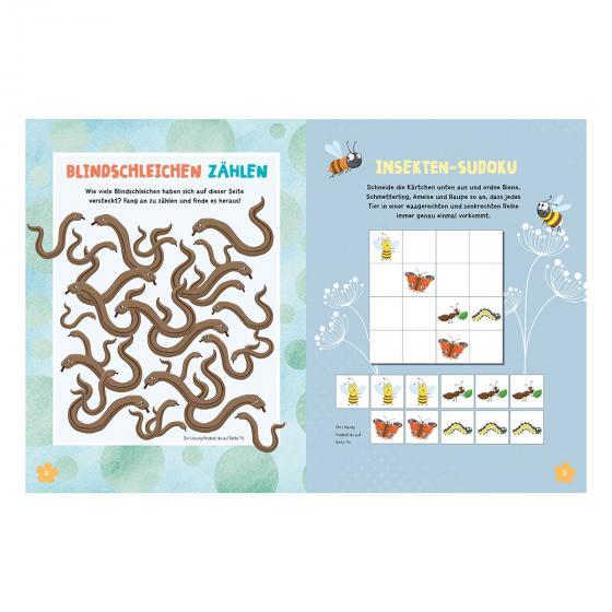 Mein Bienen, Käfer und Igel-Mitmachbuch | #2