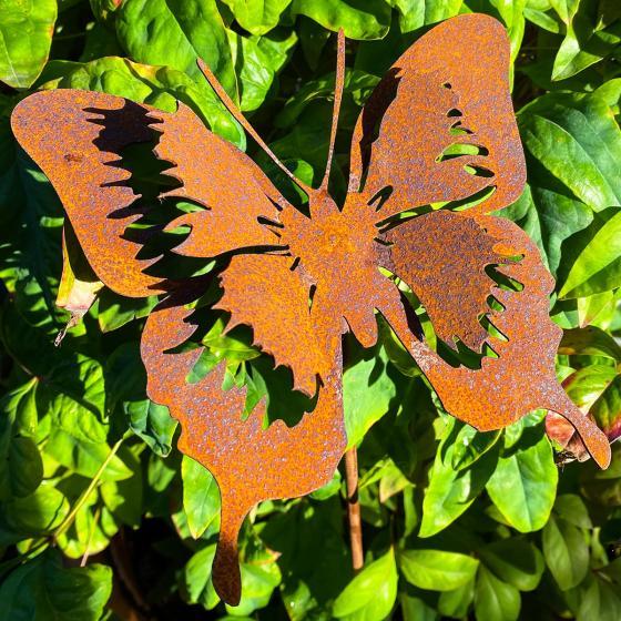 Gartenstecker Butterfly, Edelrost, 52 cm | #2