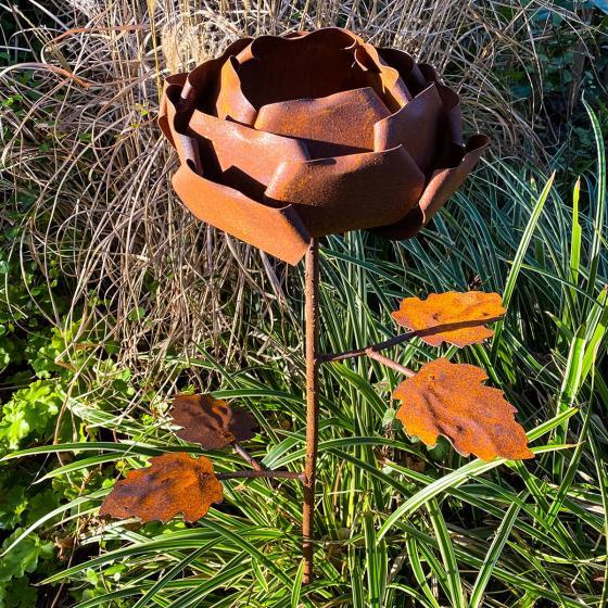 Gartenstecker Rosenzauber, Edelrost, ca. 99 cm | #2
