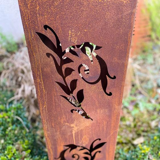 Laterne Garten Eden, Edelrost, 135 cm | #2
