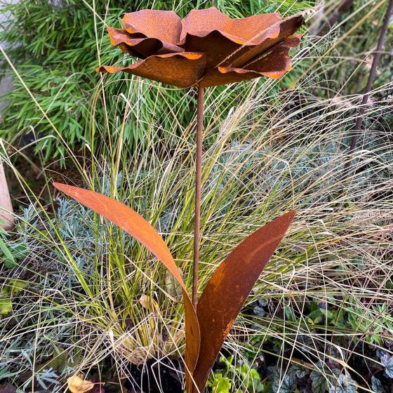 Beetstecker Blumenblüte, Edelrost | #2