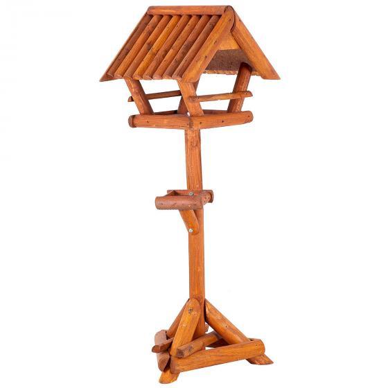 Vogelfutterhaus Paul, mit Ständer, Holz | #2