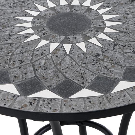 Bistrotisch Mosaik, Stahlgestell mit ca. 60 cm Tischplatte | #2
