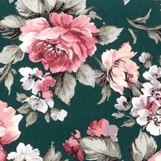 Sessel-Auflage Lissa, Blume-petrol | #2