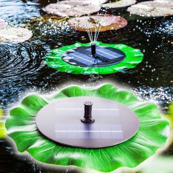 Solar-Teichpumpen-Set ca.150 l/h, schwimmend | #2