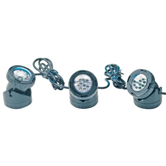 Aqua Light LED, 3er-Set Unterwasserspot mit Trafo | #2