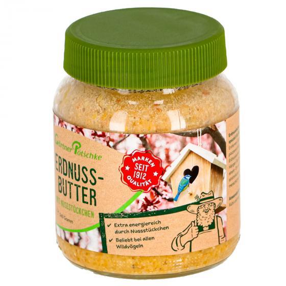 Erdnuss-Butter mit Nüssen, für Wildvögel, im Glas, 340 g | #2