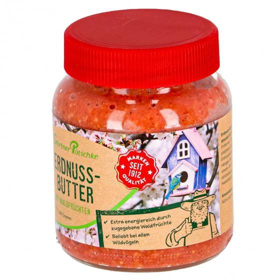 Erdnuss-Butter mit Waldfrüchten für Wildvögel, im Glas, 340 g | #2