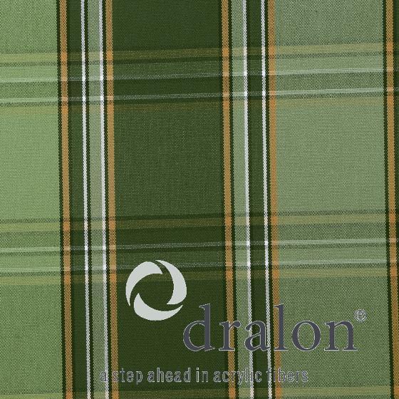Auflage Tarent Gartenbänke, 140 cm, karo grün   #2
