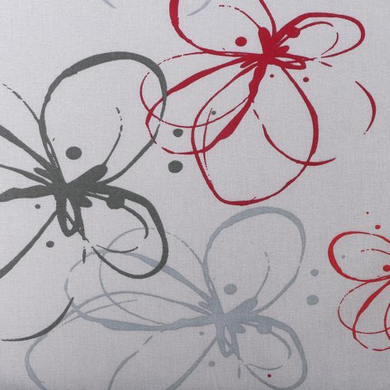 Gartenstuhl-Auflage Mika, rote Blume   #2