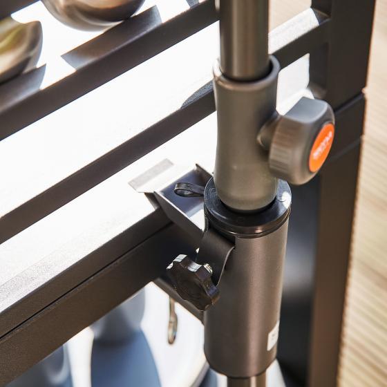 Balkonschirmklammer für Gartenschirme | #2