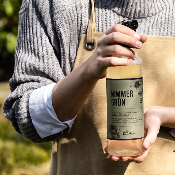 Natürliches Grünbelag- und Algenentferner-Konzentrat Nimmergrün, 750 ml | #2