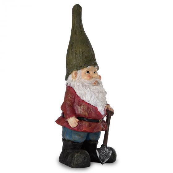 Gartenzwerg Peter mit grüner Mütze   #2