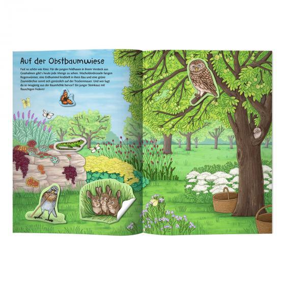 Natur-Stickerwelt: Tiere in Wald & Wiese (Nature Zoom) | #2