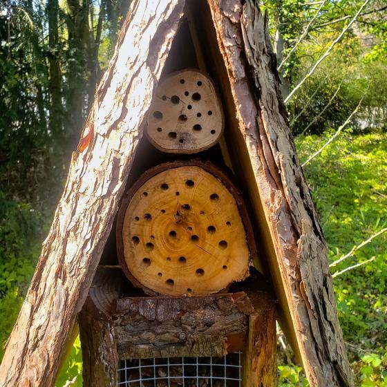 Natur-Insektenhotel Turmhotel | #2