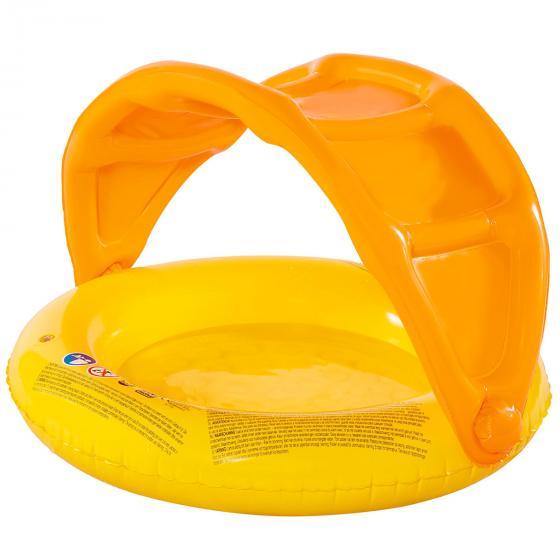 Babypool mit Sonnendach, 85x54cm, orange | #2