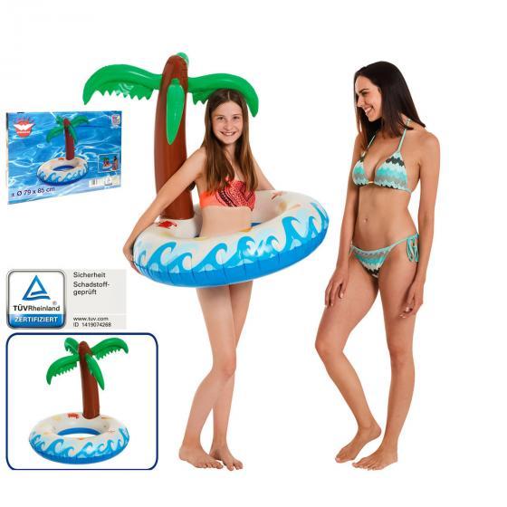 Schwimmring Palmeninsel, 79x85cm | #2