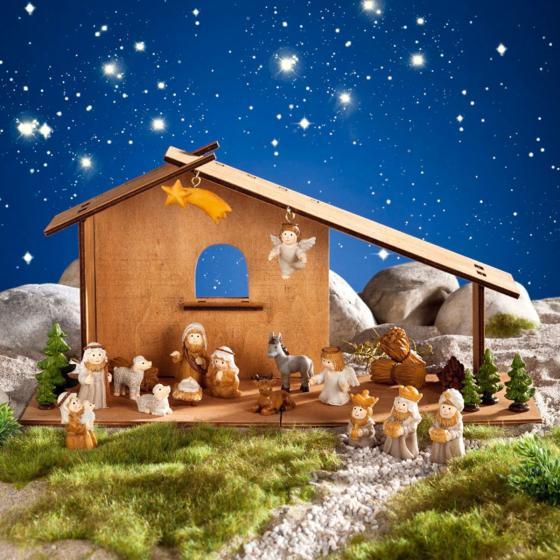 """Adventskalender """"Weihnachtskrippe""""   #2"""