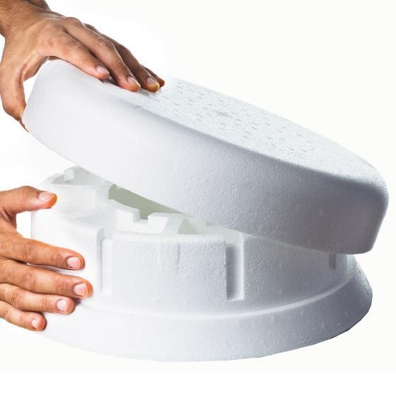 Eisfreihalter mit Senkkammer, Durchmesser 25 cm | #2