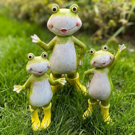 Frosch Fridolin mit gelben Gummistiefeln | #2