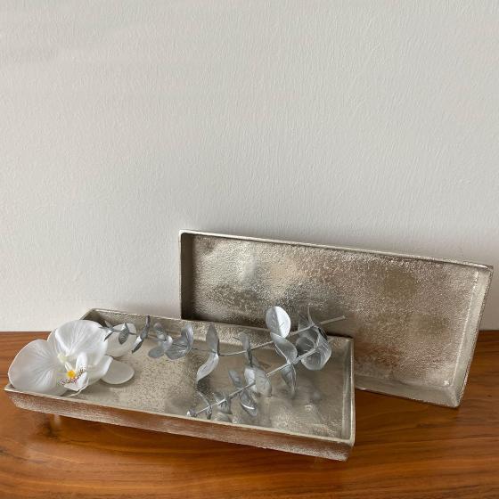 Stilvolles Tablett, 32x15x3 cm, gold | #2