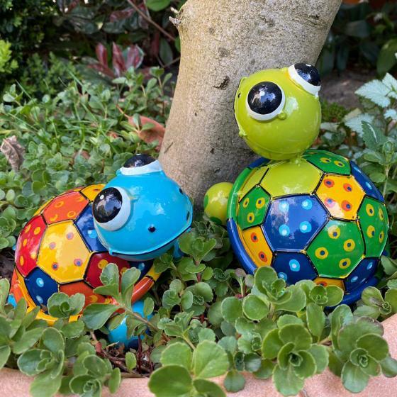 Schildkröte Turga, blau, bunt | #2