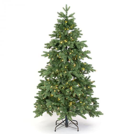 Künstlicher Weihnachtsbaum Kiefer mit LED-Beleuchtung, 150 cm | #2