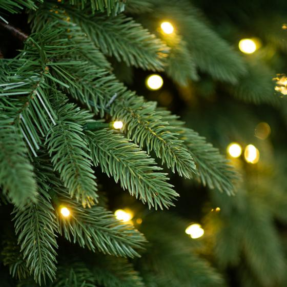 Künstlicher Weihnachtsbaum Kiefer mit LED-Beleuchtung, 180 cm | #2