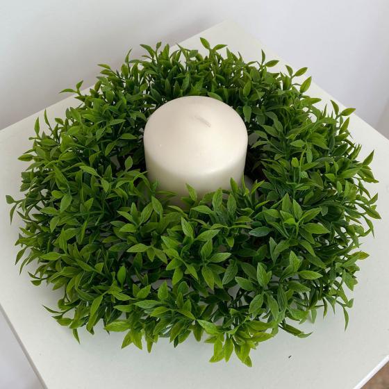 Kunstpflanze Grünkranz, 22 cm   #2