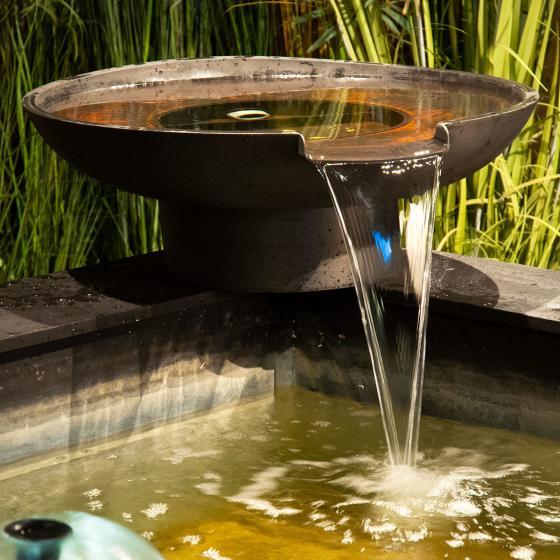 Wasserschale mit Filterfunktion und Wasserfall   #2