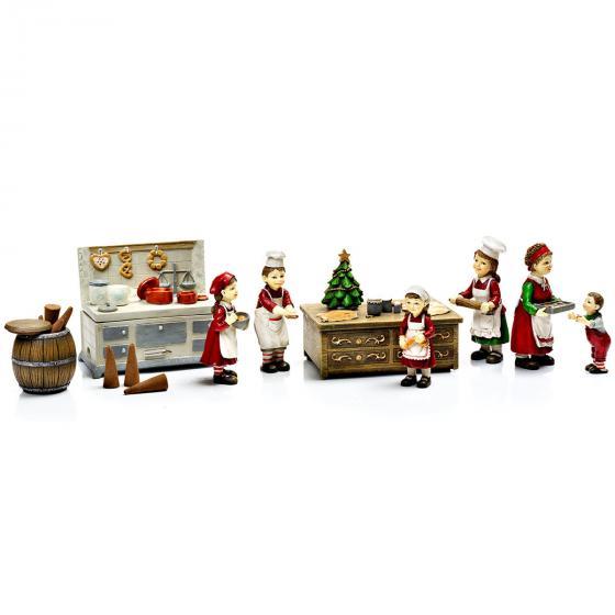 Weihnachtsbäckerei mit Spieluhr, 9-teilig   #2