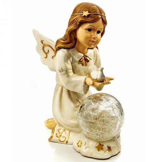 Engel Elisa mit Kugelleuchte | #2