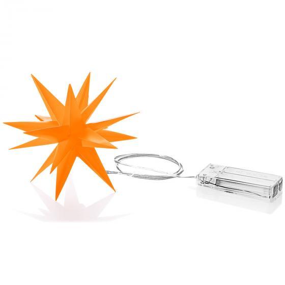 LED-Stern Xmas 12 cm, Orange | #2