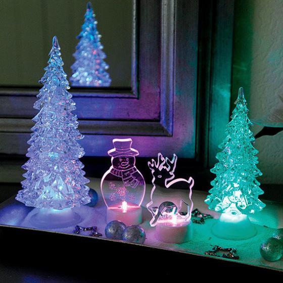 LED-Winterlandschaft, 4er-Set   #2