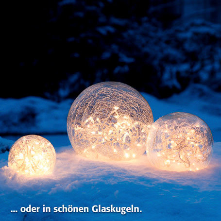 60er-LED-Außenlichterkette für Vasen & Kugeln | #2