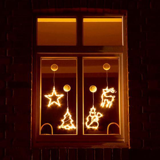 LED-Motive Fensterglanz, 4er-Set   #2