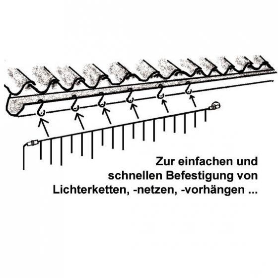 Dachrinnen-Haken, 10 Stk. | #2