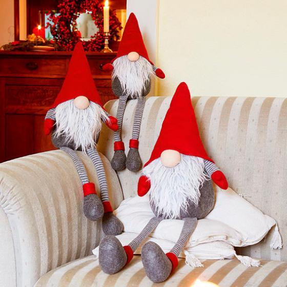 Weihnachts-Wichtel Lenny Langbein, 3er-Set | #2