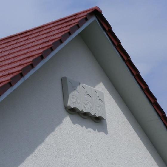 Fledermaus-Winterquartier 1WQ, 12 x 38 x 58 cm, atmungsaktiver Leichtbeton, weiß | #2