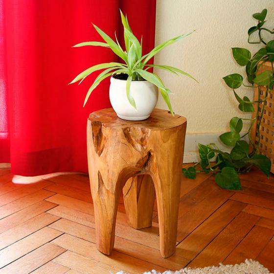 TEAK-Beistelltisch Wood Art | #2