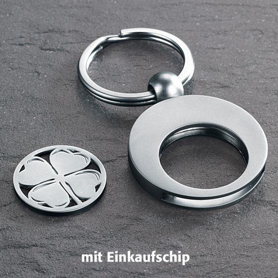 Schlüsselring Glücksklee | #2